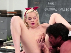 Real Teen Student Jizzed