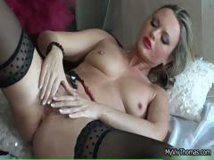 Hot Woman Goes Crazy Finger Fucking Part4