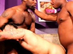 Ass Fucking Trio Cocksucking In Toilets