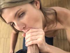 petite dutch girl sucks