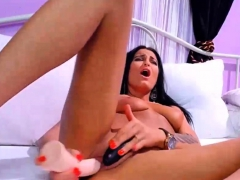 Hardcore Pussy Stretching Makes Mommy So Horny
