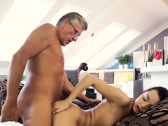 Lucky Old Man And Anal Teens What Would You Prefer -