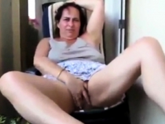 french-mom-angelique-fingering-in-her-patio