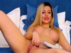 pretty-hottie-blonde-babe-teasing-her-viewers