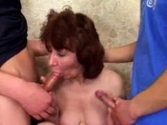 Gangbang russian mom