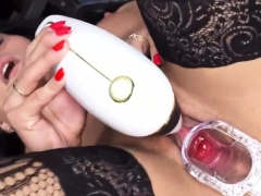 Sexy Czech Nympho Opens Up Her Wet Pussy To The Bizarre96qve