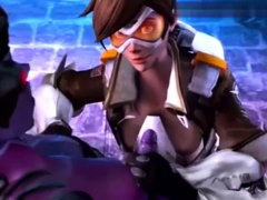 sombra overwatch cartoon animation PornBookPro