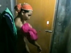 bitch in shower capature by neighbour