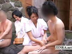 rare-outdoors-japanese-group-mixed-bathing-bathhouse
