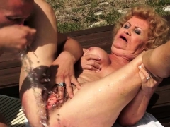 hot milf doggystyle with cumshot granny sex movies