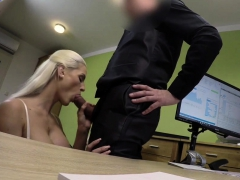 Loan4k. Blonde Beauty Pays With Sex For The Future Of Her...