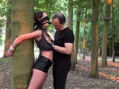 sexy-slave-tied-up-to-a-tree-and-tortured