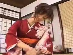 Subtitled Japanese Milf Masseuse Taught Handjob Massage