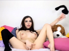 hottest and biggest boobed brunette 19yo slut on webcam teensxxx.info