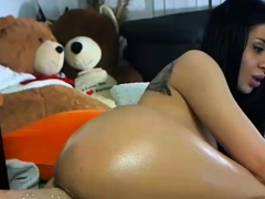 Big Assed Anal Babe Toying Her Big Bouncing Booty Ass
