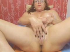 Webcam - Colombian Granny Milf Teasing (no Sound)
