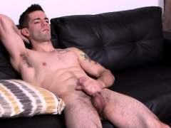 Solo Marine Strips Down And Strokes His Dick