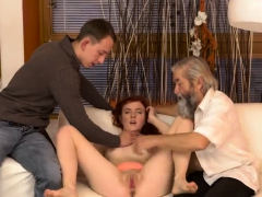 Sexy Horny Teen Threesome Unexpected Experience With An