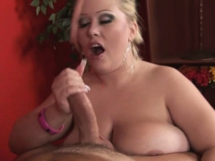 Guy Fingers And Bonks Pussy Of One Naughty Fat Woman