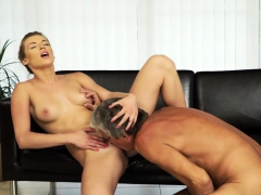 Daddy4k. Dude Catches Attractive Girlfriend Making Love…