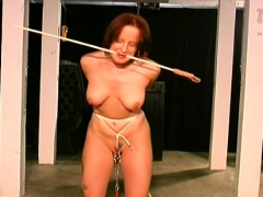 Complete sadomasochism action along large tits woman