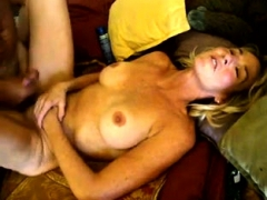 Redhead Amateur Milf Home Action With Cumshot