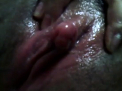 my asian hairy muffin (clit massage3)