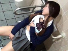 Pretty Asian Teen Rubs