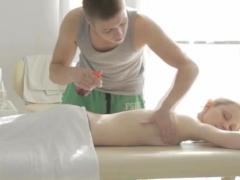 Lick Cum From Her Ass Mirta Gets A Sensuous Massage