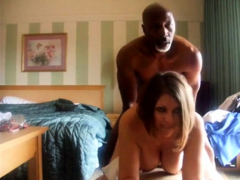 gorgeous sexy milf and bbc try out the camera