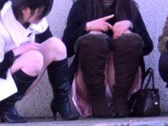 Upskirt Asian Teens Seen