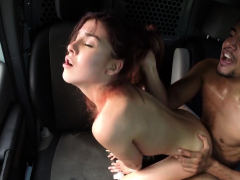 diminutive beautiful chick loves extreme gangbang