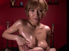 Oiled Up Teen Sumire Matsu Sucks Dick In – More at