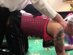 pounded fetish tat milf