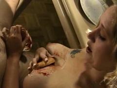 sexy handjob from horny milf