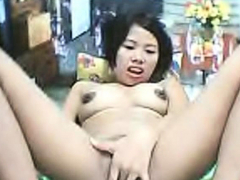 cute asian webcam girl