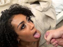 busty-ebony-stepdaughter