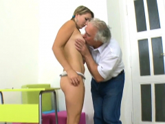 demure hottie gets her snatch ravished by teacher