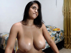 Big lactating latin boobs