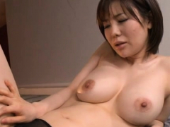 Magical busty oriental Nanako Mori fucks wildly