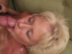 Busty Tracy needs a stiff shaft