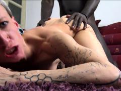 SKINNY GERMAN PUNK TEEN Seduce to Fuck by BBC Interracial