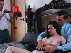 Casey Calvert fucks with bf while filming it with a friend