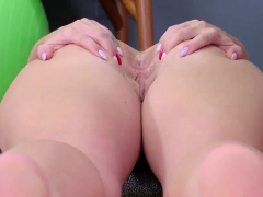 Teen babe stockings and homemade anal creampie Ass-Slave