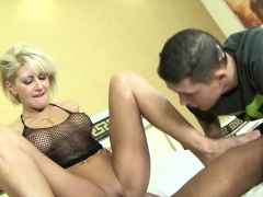 cathy craves for a black cock