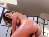 Sexy massage session with my best friends hot MILF mom