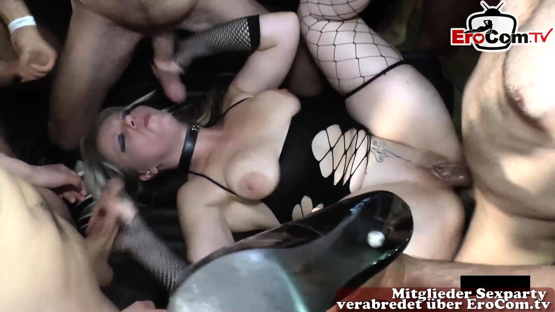 German Multiple Anal Creampie