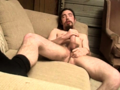 Samuel likes to chill out and enjoy his hairy dick,