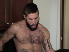 Jeff Powers With Roman Todd At Raw Fugitive Scene
