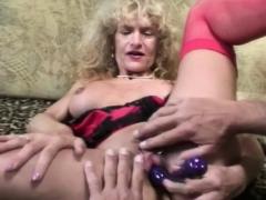 Pierced Dutch Granny Fuck From Holland